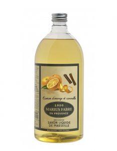 Marius Fabre fait aussi du savon de Marseille liquide à base d'huile de coprah